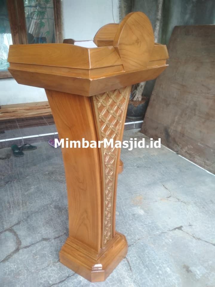 Podium Jati Minimalis Jati Jepara Murah